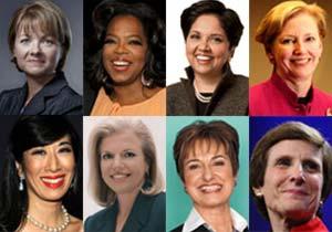 قدرتمندترین زنان